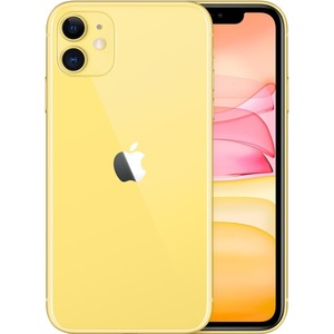 Apple iPhone 11 A2221 64 GB Smartphone - 15.5 cm 6.1And#34; HD - 4 GB RAM - iOS 13 - 4G - Yellow