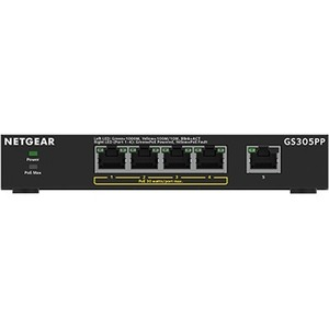 Netgear GS305PP 5 Ports Ethernet Switch