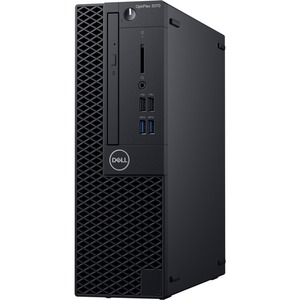 Dell OptiPlex 3000 3070 Desktop Computer - Core i5 i5-8500 - 8 GB RAM - 256 GB SSD - Small Form Factor - Black