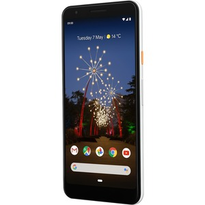 Google Pixel 3a 64 GB Smartphone - 14.2 cm 5.6And#34; Full HD Plus - 4 GB RAM - Android 9.0 Pie - 4G - Clear White - Bar - Kryo 360 Gold Dual-core 2 Core 2 GHz, Kryo 3