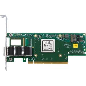 Mellanox ConnectX-6 VPI 100Gigabit Ethernet Card - PCI Express 3.0 x16 - 1 Ports - Optical Fiber