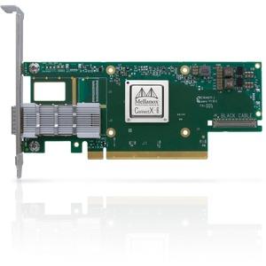 Mellanox ConnectX-6 VPI 200Gigabit Ethernet Card - PCI Express 4.0 x16 - 1 Ports - Optical Fiber