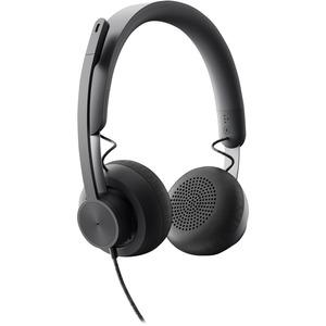 USB-C Logitech Zone Wired On-Ear Headset
