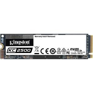 Kingston KC2500 1 TB Solid State Drive - M.2 2280 Internal - PCI Express NVMe PCI Express NVMe 3.0 x4 - Desktop PC, Workstation Device Supported - 600 TB TBW - 350