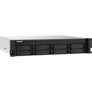 QNAP TS-853DU-RP-4G 8 x Total Bays SAN/NAS Storage System - 4 GB Flash Memory Capacity - Intel Celeron Quad-core 4 Core 2 GHz - 4 GB RAM - DDR4 SDRAM - 2U Rack-mou