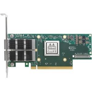 Mellanox ConnectX-6 VPI 100Gigabit Ethernet Card - PCI Express 4.0 x16 - 2 Ports - Optical Fiber