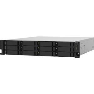 QNAP TS-1232PXU-RP-4G 12 x Total Bays SAN/NAS Storage System - 512 MB Flash Memory Capacity - Annapurna Labs Alpine Quad-core 4 Core 1.70 GHz - 2 GB RAM - DDR4 SDR