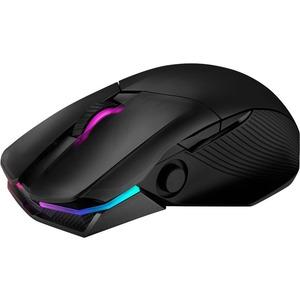 Asus ROG Chakram Gaming Mouse - Bluetooth/Radio Frequency - USB - Optical - Black