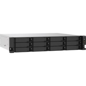 QNAP TS-1273AU-RP-8G 8 x Total Bays SAN/NAS Storage System - 5 GB Flash Memory Capacity - AMD Ryzen Quad-core 4 Core 2.20 GHz - 8 GB RAM - DDR4 SDRAM - 2U Rack-mou