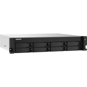 QNAP TS-873AU-RP-4G 8 x Total Bays SAN/NAS Storage System - 5 GB Flash Memory Capacity - AMD Ryzen Quad-core 4 Core 2.20 GHz - 4 GB RAM - DDR4 SDRAM - 2U Rack-moun