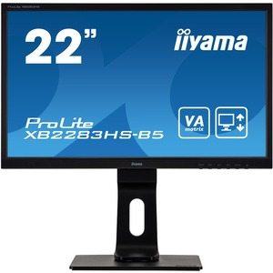 iiyama ProLite XB2283HS-B5 5 21.5And#34; Full HD LED LCD Monitor - 16:9 - Matte Black