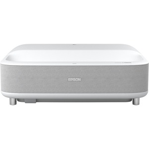 Epson EH-LS300W Ultra Short Throw 3LCD Projector - 16:9 - White - 1920 x 1080 - Ceiling - 1080p - 20000 Hour Normal Mode - 30000 Hour Economy Mode - Full HD - 2,500,