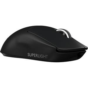 Logitech PRO X SUPERLIGHT Gaming Mouse - USB - 5 Buttons - Black - Wireless - 25400 dpi