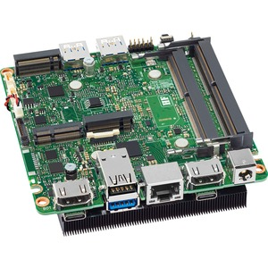 Intel NUC 11 Pro NUC11TNBv7 Desktop Motherboard - Intel Chipset - Socket BGA-1449 - Ultra Compact - Intel Core i7 i7-1185G7 - 64 GB DDR4 SDRAM Maximum RAM - DDR4-320