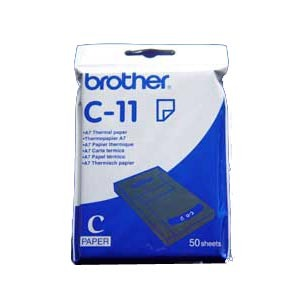 Brother C11 Thermal Paper - A7 - 74 mm x 105 mm - 50 x Sheet