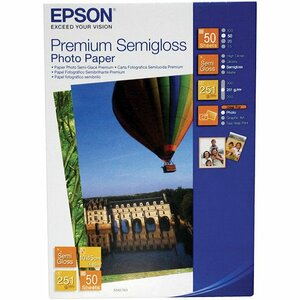 Epson C13S041765 Photo Paper - 100 mm x 150 mm - Semi Gloss - 50 x Sheet
