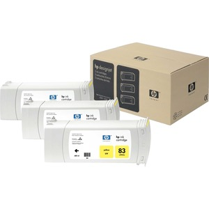 HP No. 83 Ink Cartridge - Yellow