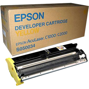 Epson C13S050034 Toner Cartridge - Yellow