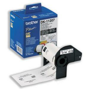 Brother DK11207 CD/DVD Label - 58 mm x 58 mm - 100 x Label