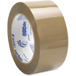 """Duck Brand HP260 Packing Tape - 1.88"""" Width x 60 yd Length - 3"""" Core - 3.10 mil - Acrylic Backing - Non-yellowing - 1 Roll - Tan"""