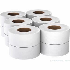 "Scott JRT Jr. Bath Tissue - 2 Ply - 3.55"" x 1000 ft - White - 12 / Carton"