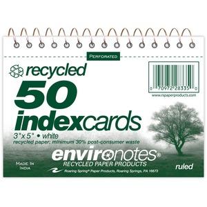 Roaring Spring Printable Index Card