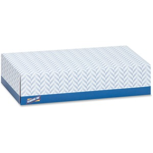 Genuine Joe 2-Ply Facial Tissue - 2 Ply - White - Soft - 100 Sheets Per Box - 30 / Carton