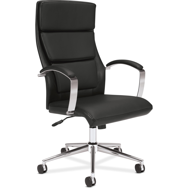 HON Boda Mesh High-Back Task Chair - Black Mesh Seat..