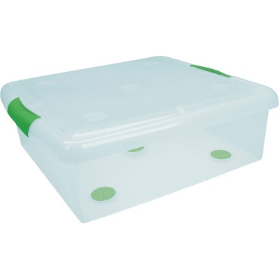 I R S Stor N Slide Plastic Underbed Storage Box Irs170255