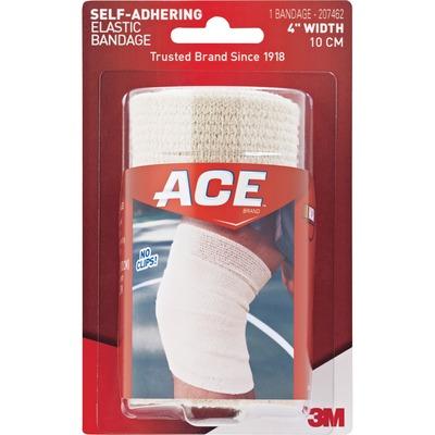 "Ace Self-Adhering 4"" Wide Elastic Bandage, Tan MMM207462"
