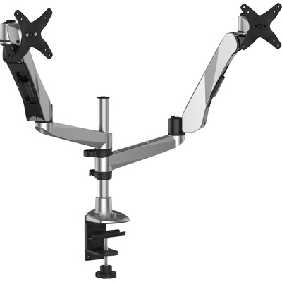 3M Dual Mounting Arm for Flat Panel Display, 20 lb Load Capacity, Silver MMMMA265S