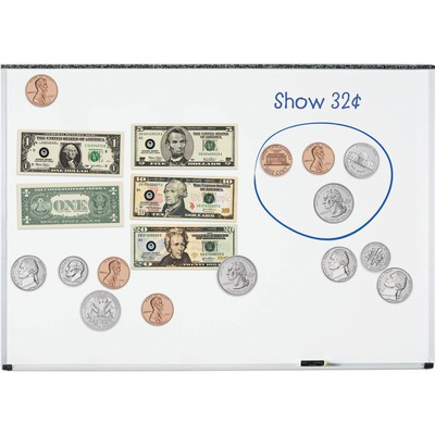 Lrn5080 Learning Resources Double Sided Magnetic Money Zuma
