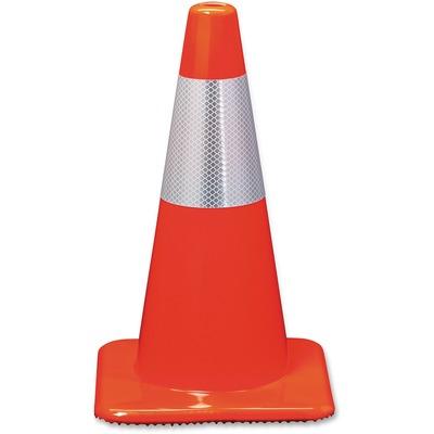 3M Orange Reflective Safety Cones MMM90128R