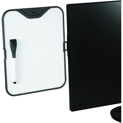 "3M Monitor Whiteboard Holder, 9"" x 11-3/10"" x 1-3/5"" MMMMWB100B"