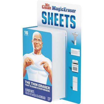 Mr Clean Magiceraser Sheets Sheet 16 Pack White