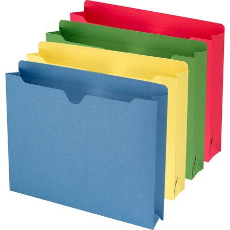 Wholesale Colored File Jackets: Discounts on Smead Colored File Jackets SMD75673