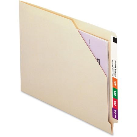 Wholesale End Tab File Jackets: Discounts on Smead End Tab File Jackets with Shelf-Master Reinforced Tab SMD75700