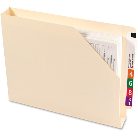 Wholesale End Tab File Jackets: Discounts on Smead End Tab File Jackets with Shelf-Master Reinforced Tab SMD75740