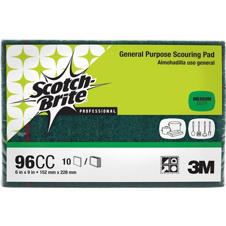 Scotch-Brite -Brite General Purpose Scouring Pads MMM96CC