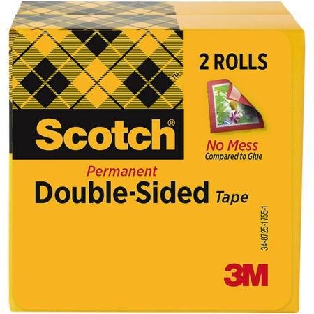 Scotch Double Sided Tape MMM6652PK