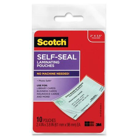 Scotch Self-Sealing Laminating Pouch MMMLS85110G-BULK