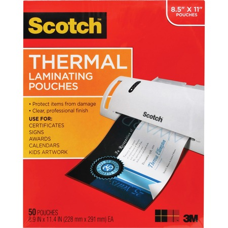 Scotch Thermal Laminating Pouch MMMTP385450