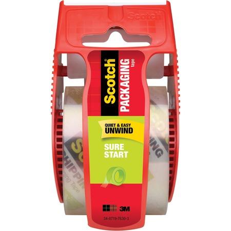 Scotch Sure Start Easy Unwind Packaging Tape MMM145