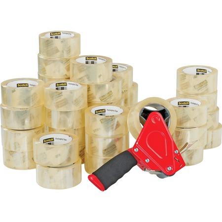 Scotch Packaging tape with Pistol Grip Dispenser MMM3750CS36ST