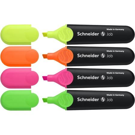 Schneider Job Highlighter 4-color Pack STW01500