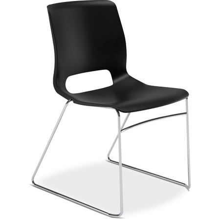 Wholesale Stacking Chairs: Discounts on HON Motivate Sled-based Stacking Chairs HONMS101ON