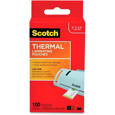 Scotch Thermal Laminating Pouches MMMTP5851100-BULK