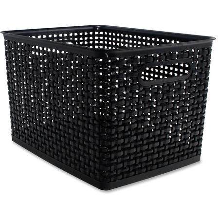 Wholesale Shipping & Storage Boxes & Bins: Discounts on Advantus Plastic Weave Bin AVT40328
