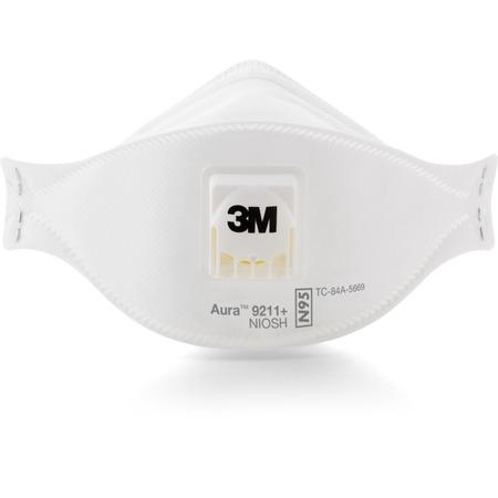 3M Aura Particulate Respirator MMM9211PLUS