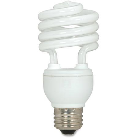 Satco 18-watt T2 Spiral CFL Bulb 3-pack SDNS6271